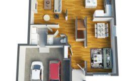 3d floor plan_ground