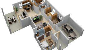 3d floor plan_hb